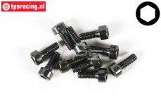 FG6724/08 Socket Head Screw M3-L8 mm, 10 pcs