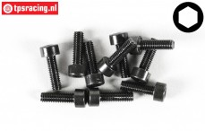 FG6724/12 Socket Head Screw M3-L12 mm, 10 pcs