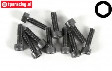 Cap Head Hex Screw FG (M4-L14 mm), 10 pcs