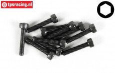 FG6724/16 Socket Head Screw M3-L16 mm, 10 pcs