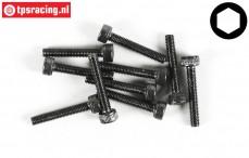 FG6724/20 Socket Head Screw M3-L20 mm, 10 pcs