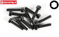 Cap Head Hex Screw FG (M4-L20 mm), 10 pcs