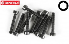 FG6725/25 Socket Head Screw M4-L25 mm, 10 pcs