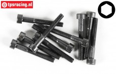 Cap Head Hex Screw FG (M4-L30 mm), 10 pcs