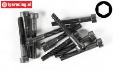 FG6725/35 Socket Head Screw M4-L35 mm, 10 pcs