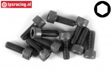 Cap Head Hex Screw FG (M5-L16 mm), 10 pcs