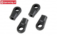 FG67260/05 Ball-and-socket joint M4-Ø7-L19 mm, 4 pcs.