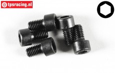 FG6727/10 Socket Head Screw M6-L10 mm, 5 pcs