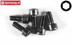 FG6727/14 Socket Head Screw M6-L14 mm, 5 pcs