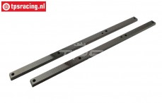 FG67270/02 CFK chassis stiffening Leopard2 +26 mm, set
