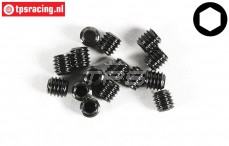 FG6728/03 Grub srew M3-L3 mm, 15 pcs