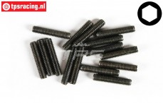 FG6729/20 Grub Screw M4-L20 mm, 15 pcs