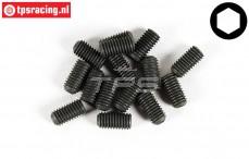 FG6730/10 Scrub Screw M5-L10 mm, 15 pcs