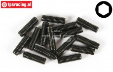 FG6730/16 Scrub Screw M5-L16 mm, 15 pcs