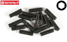 FG6730/20 Scrub Screw M5-L20 mm, 15 pcs