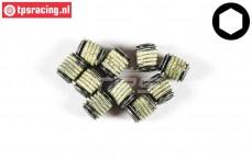 FG6730/61 Grub Screw M5-L6 mm Loctite, 10 pcs
