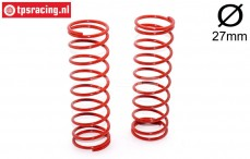 FG67303 Shock spring red Ø2,5-L105 mm, 2 pcs.