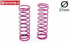 FG67304 Shock spring violet Ø2,6-L105 mm, 2 pcs.