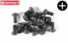 FG6731/04 Pan-head screw FG M3-L4 mm, 10 pcs