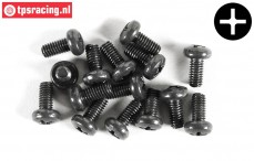 FG6731/08 Pan-head screw M4-L8 mm, 10 pcs