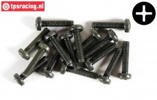 FG6731/14 Pan-head screw M4-L14 mm, 10 pcs