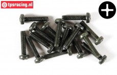 FG6731/18 Pan-head screw M4-L18 mm, 10 pcs