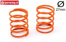 FG67312 Shock spring Orange Ø2,4-L40 mm, 2 pcs.