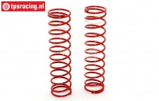 FG67317 Shock spring Red Ø30-Ø2,6 x L145 mm, 2 pcs.
