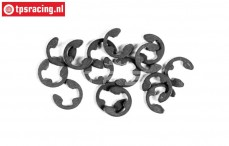 FG6732/03 E-clip spring steel Ø3,2 mm, 15 pcs