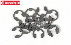 FG6732/07 E-clip spring steel Ø7 mm, 15 pcs
