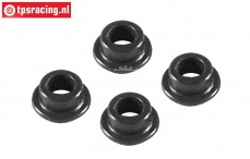 FG67320/07 Lower Shock bushing, Ø4,5-Ø7 mm, 4 pcs.