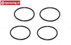 FG67320/12 Shock O-ring, Ø24 mm, 4 pcs.