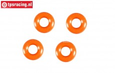 FG67320/16 Shock Silicone O-ring, Ø3-H2,0 mm, 4 pcs.