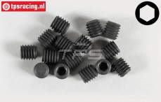 Headless Pin FG, (M6-L6 mm), 15 pcs