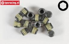 Headless Pin FG, (M6-L6 mm Loctite), 10 pcs