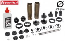 FG67330 Alloy shock Ø24-L170 mm, set