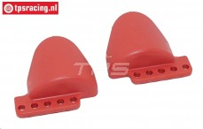 FG67336/01 Shock protection Red, 2 pcs.