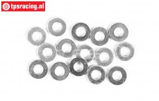 FG6734/02 Steel washer Ø2,7-Ø6-H1,0 mm, 15 pcs.