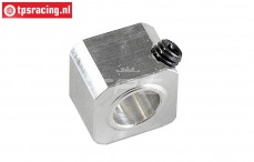 FG67340 Aluminium brake square Ø10-18x18-L14 mm, 1 pc.