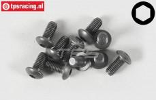 Pan Head Screw FG Screw FG (M5-L10 mm), 10 pcs