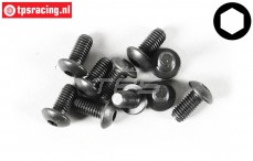 FG6735/10 Button Head Screw M5-L10 mm, 10 pcs