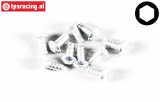 FG6737/06 Button Head Screw M3-L6 mm, 10 pcs