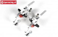 FG67371 Aluminium double servo saver 2WD, set