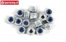 FG6738/03 Steel locking Nut M3R, 15 pcs.