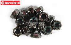 FG6738/06 Steel Locking Nut M6R, 15 pcs.