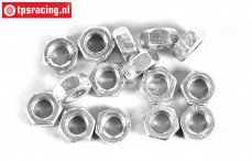 FG6739/05 Steel nut M5R, 15 pcs.