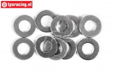 FG6741 Steel Shim washer Ø6-Ø12-H0,5 mm, 10 pcs.