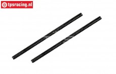 FG67542 Steel threaded rod M4-L83 mm, 2 pcs