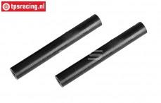 FG67544/03 Plastic Brace Ø10-L80 mm, 2 pcs