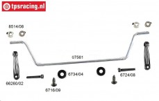 FG67560 Stabilizer rear 4WD Sports-Line Ø4,0 mm, Set